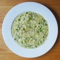Risotto m. courgetter, citron og timian