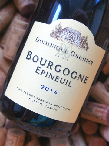 Bourgogne Epineuil 2014 Gruhier Dominique
