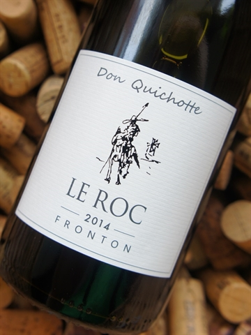 "Domaine Le Roc Fronton ""Don Quichotte"" 2014"